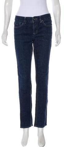 Tommy Hilfiger Mid-Rise Straight-Leg Jeans