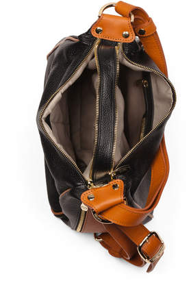 Made In Italy Sling Convertible Leather Backpack