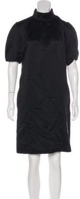 Celine Silk & Wool-Blend Mini Dress