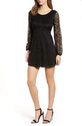 Obey Raven Lace Minidress