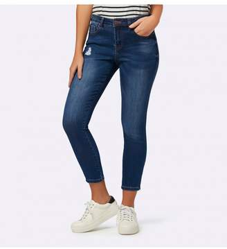 Ever New Hannah Petite Low Rise Skinny Crop Jeans