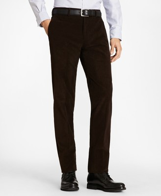 Brooks Brothers Regent Fit Fine Wale Stretch Corduroy Trousers
