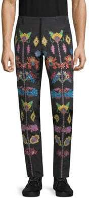 Moschino Embroidered Pants