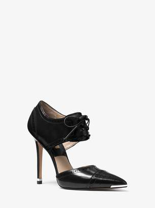 Michael Kors Arleigh Calf Leather Pump