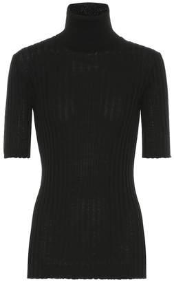 Bottega Veneta Ribbed turtleneck wool sweater