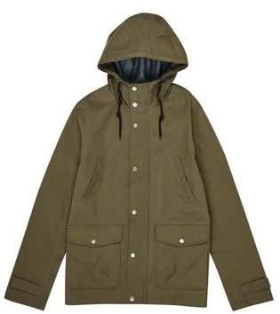 Burton Mens Threadbare Khaki Dover Hooded Dogwalker Jacket*