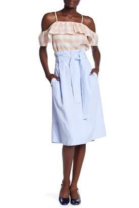 Club Monaco Dilys Front Tie Skirt