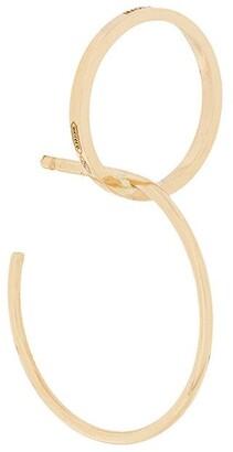 Delfina Delettrez interlocked hoop earrings