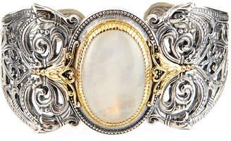 Konstantino Erato Filigree Cuff Bracelet w/ Labradorite Doublet