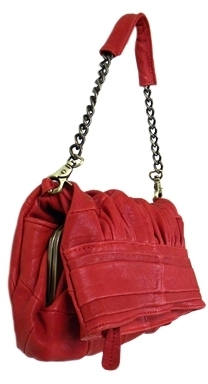 Kitson 7Chi - Women's Brown Leather Mally Mini Shoulder Bag **3 Colors**