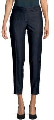 Anne Klein Cropped Denim Trousers