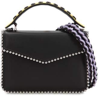 Les Petits Joueurs Mini Pixie Double Braid Leather Bag