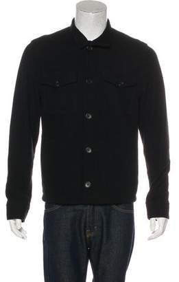 James Perse Corduroy Button-Up Jacket