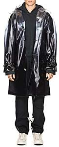 Off-White c/o Art Dad Men's Galaxy-Print Trench Coat