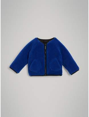 Burberry Childrens Faux Shearling Jacket