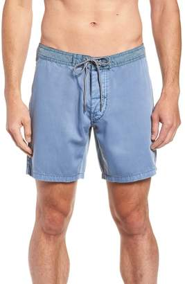 rhythm Classic Wash Swim Trunks