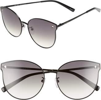 Cat Eye VEDI VERO 62mm Oversize Round Sunglasses