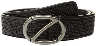 Ermenegildo Zegna Fixed Woven Belt BPTAP9 Men's Belts