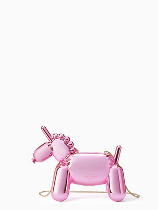 Whimsies unicorn balloon clutch $498 thestylecure.com