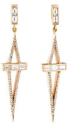 Monique Péan 18K Diamond Drop Earrings