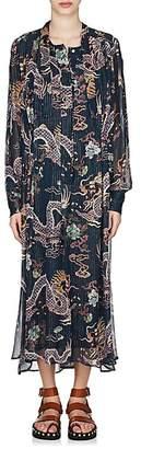 Isabel Marant Women's Dalika Silk Georgette Dress