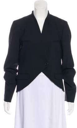 Michael Kors Virgin Wool Structured Blazer