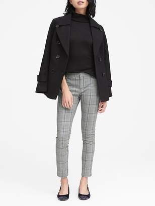 Banana Republic Petite Sloan Skinny-Fit Plaid Ankle Pant