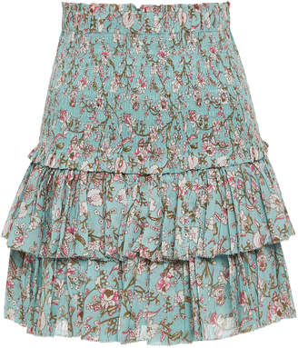 Etoile Isabel Marant Naomi Ruffle Mini Skirt