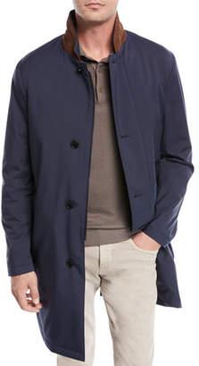 Loro Piana Sebring Windmate® Storm System® Jacket, Navy