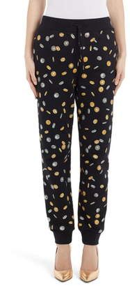 Moschino Coin Print Joggers