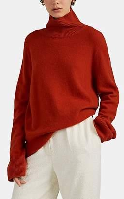 The Row Women's Milina Wool-Cashmere Turtleneck Sweater - Rust