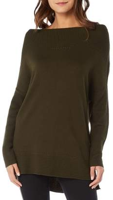 Michael Stars Open Neck Cashmere Blend Tunic