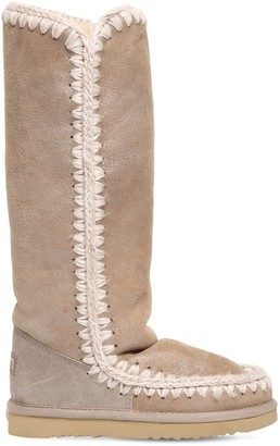 Mou 20MM ESKIMO 40 METALLIC WEDGE BOOTS