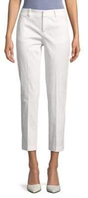 Lord & Taylor Petite Kelly Pique Crop Pants