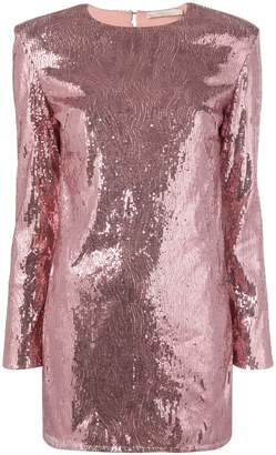 Amen sequinned mini dress