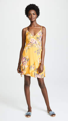 MinkPink Tokyo Wrap Dress