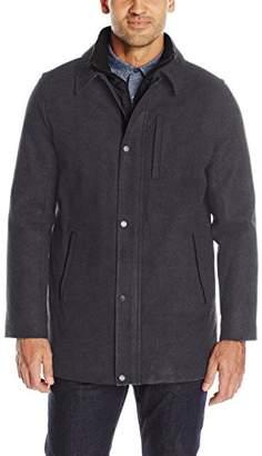 Calvin Klein Men's Wool Carcoat
