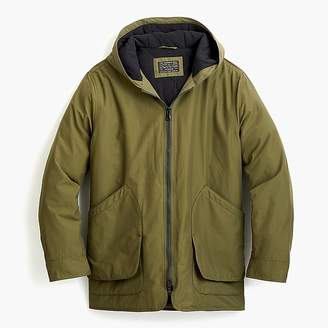 J.Crew Fleece-lined hooded jacket