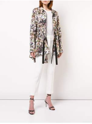 ADAM by Adam Lippes Printed Cotton Poplin Anorak