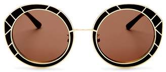 Tory Burch Round Sunglasses, 51mm