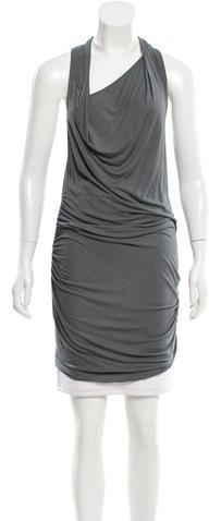 Helmut Lang Asymmetrical High-Low Tunic