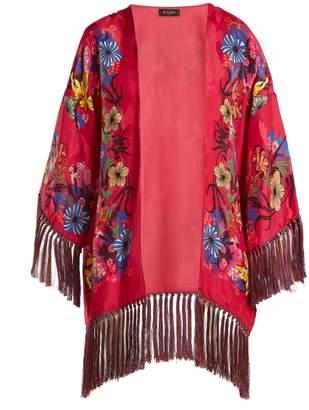 Etro Kesa floral-print satin kimono