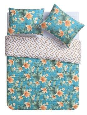 VCNY Resorts Quilt Set 3pc - VCNY®