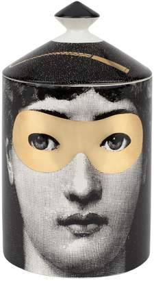 Fornasetti Golden Burlesque Scented Candle With Lid