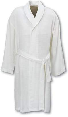Deluxe Comfort Bamboo Robe -White- 2X- Large