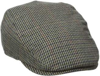 Dockers Houndstooth Flat Top Ivy Hat