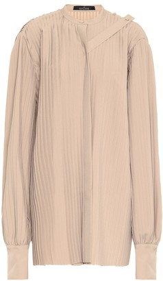 Rokh Pleated twill top