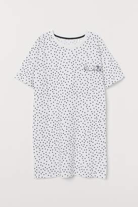 H&M Cotton Nightgown - White
