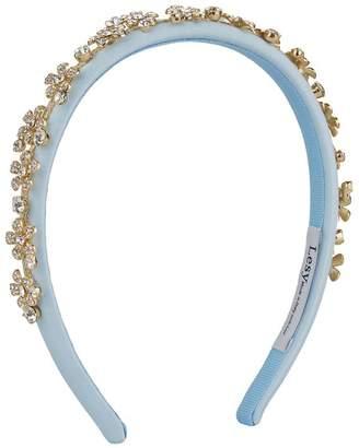 Lesy Crystal Flower Embellished Headband
