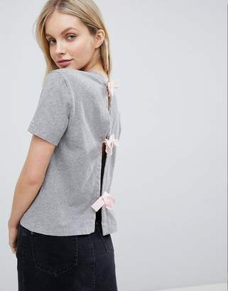 Jack Wills Tie Back T Shirt